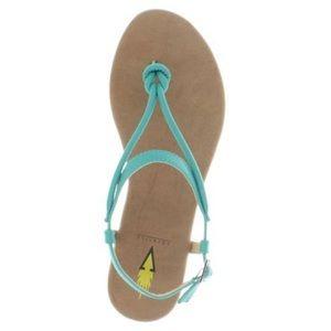 NIB Volatile Laury Sandal Turquoise